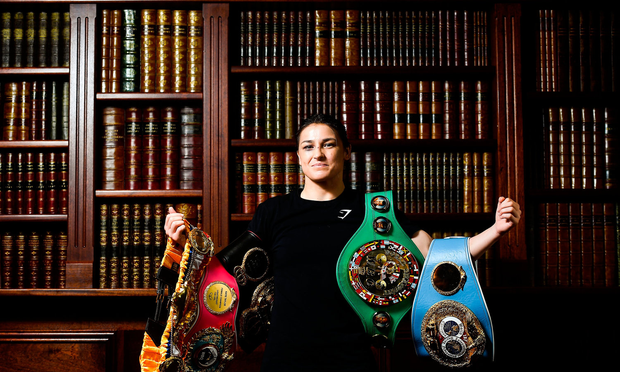 Bray Wants To Honour Katie Taylor -- But She's Not So Sure