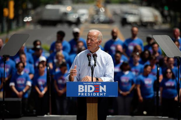 Mr Biden has previously expressed his personal opposition to abortion. Photo: AFP/Getty Images