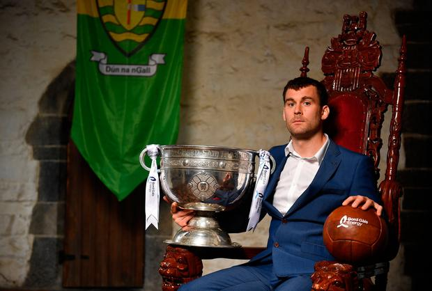 Eamon McGee at last week's Bord Gáis Energy Legends Tour launch. Photo: Sportsfile