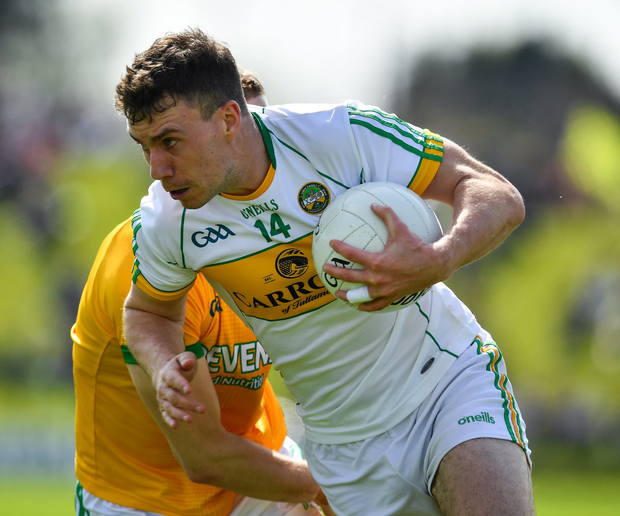 Niall McNamee will remain part of the Offaly set-up 'for as long as I am able'. Photo: Sportsfile