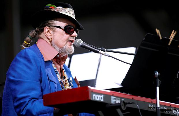 Musician Dr. John performs during the New Orleans Jazz and Heritage Festival in New Orleans, Louisiana April 26, 2013. REUTERS/Jonathan Bachman