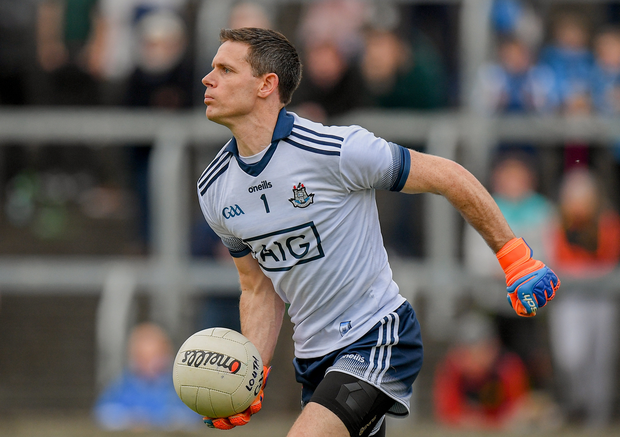 Stephen Cluxton will make his 100th championship appearance for Dublin this Sunday. Photo by Eóin Noonan/Sportsfile