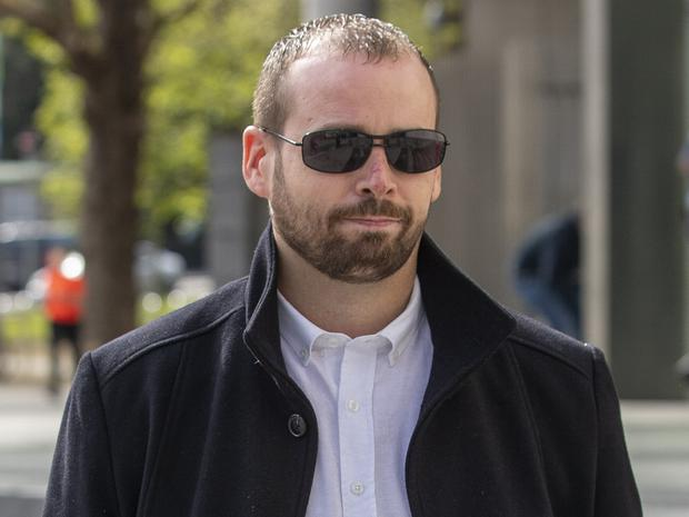 Jonathan Lennon: Released after being sentenced. Picture: Collins