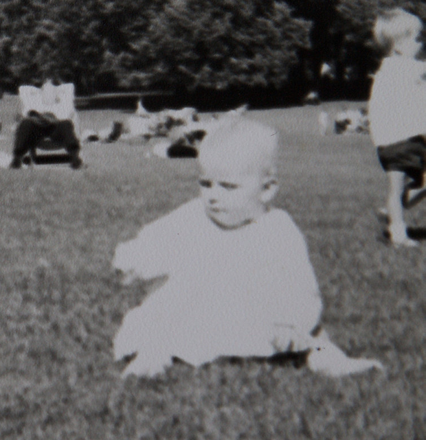 Happy images from the family album of Christine's childhood