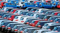 In the first five months of the year, there was a 7.6pc decrease in new cars sold in comparison with the same period last year. Stock photo: PA