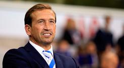 Leyton Orient manager Justin Edinburgh has died at the age of 49, the club have announced. Nigel French/PA Wire.