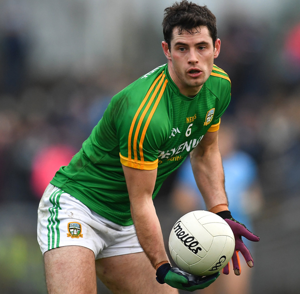 Donal Keoghan and Meath have to make their own tradition of winning. Photo: Piaras Ó Mídheach/Sportsfile