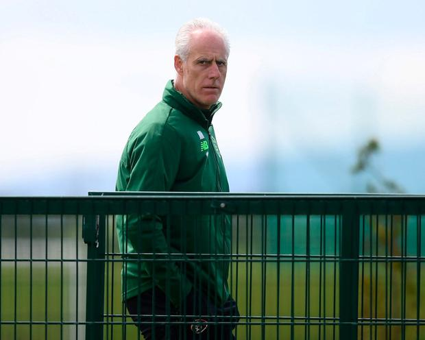 Republic of Ireland manager Mick McCarthy. Photo: Stephen McCarthy/Sportsfile