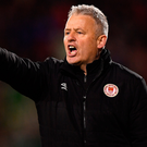 St Patrick's Athletic manager Harry Kenny faces a tough Europa League test against Swedish side IFK Norrkoping. Photo: Seb Daly/Sportsfile
