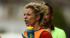 Cork ladies football legend Valerie Mulcahy will lead the GAA in the Dublin Pride Parade later this month. Photo: Sportsfile