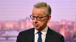 Changing the agenda: Michael Gove is seeking to get his campaign back on course after cocaine revelations. Photo: REUTERS