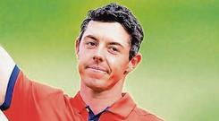 Rory McIlroy. Photo: Vaughn Ridley/Getty Images