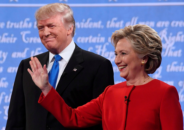 Donald Trump and Hillary Clinton. Photo: Getty Images