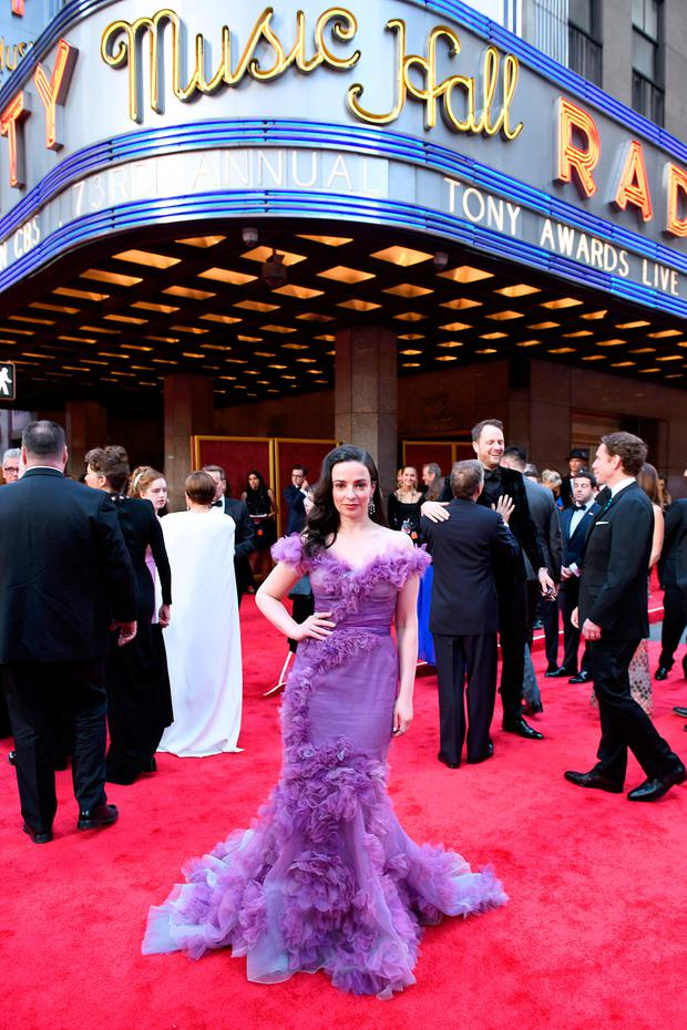 Laura Donnelly attends the 73rd Annual Tony Awards at Radio City Music Hall on June 09, 2019 in New York City. (Photo by Jenny Anderson/Getty Images for Tony Awards Productions)