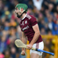Brian Concannon of Galway celebrates after scoring his side's second goal during the Leinster GAA Hurling Senior Championship Round 4 match between Kilkenny and Galway at Nowlan Park in Kilkenny. Photo by Daire Brennan/Sportsfile