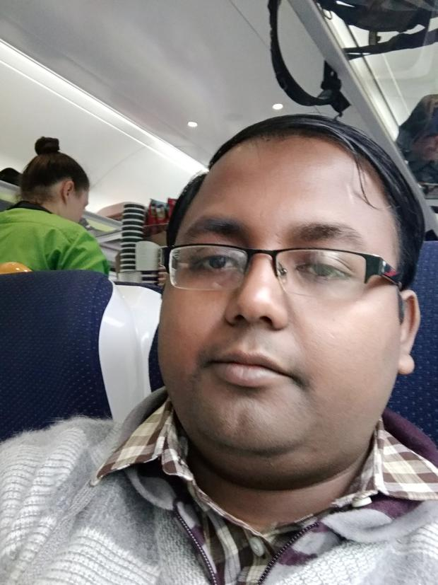 Prasun Bhattachjee was traveling to Dublin on vacation with his parents (Photo: RTE Radio One)