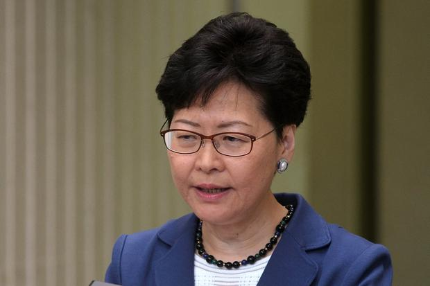 Carrie Lam: 'I have not received any instruction from Beijing to do bill'. Photo: REUTERS/Tyrone Siu