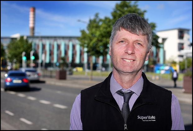 Robert Murphy, owner and manager of Nan's SuperValu in Ballymun and Chairperson of Ballymun Tidy Towns Group. Pic Steve Humphreys 10th June 2019