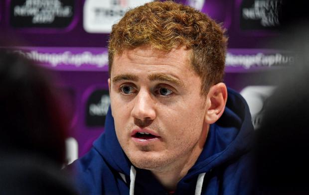 Paddy Jackson: The fly-half signed for London Irish for next season. Photo: Brendan Moran/Sportsfile