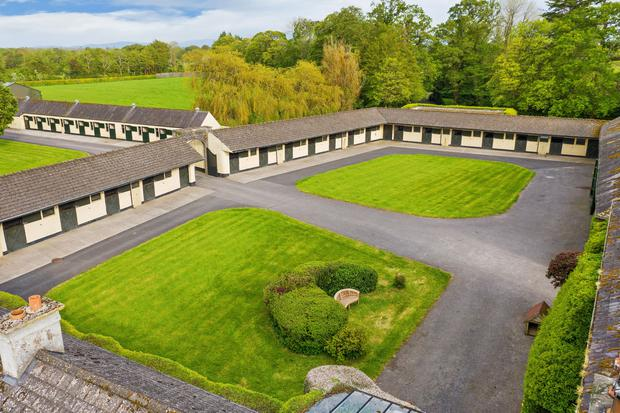 The equestrian facilities are extensive