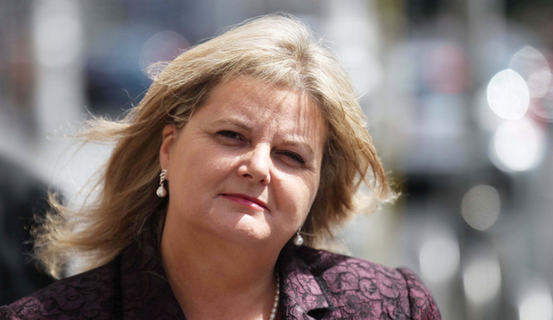 Court ruling: Angela Kerins claimed the PAC acted unlawfully, and received an apology from the Ceann Comhairle. Photo: Collins