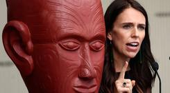 Youngest head of state: New Zealand's Prime Minister Jacinda Ardern expects to be taken seriously. Photo: Phil Walter/Getty Images