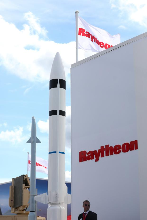 High flier: Raytheon produces Patriot missile defence systems and focuses on radar and munitions. Photo: Bloomberg
