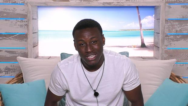 Love Island's Sherif Lanre announces he's left the show after breaking rules