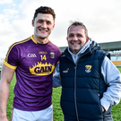Wexford's Lee Chin says Davy Fitzgerald might like his systems of playing, but also doesn't mind seeing his charges playing off-the-cuff. Photo: Sportsfile