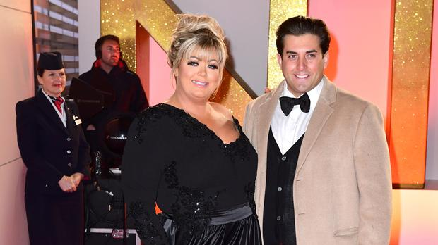 Gemma Collins and James Argent (Ian West/PA)