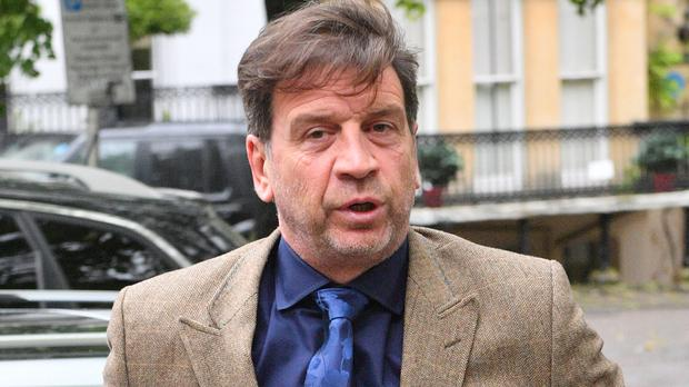 Nick Knowles arrives at Cheltenham Magistrates' Court to be sentenced (Ben Birchall/PA)
