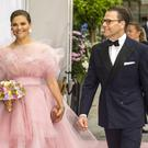 Crown Princess Victoria of Sweden and Prince Daniel of Sweden arrive at the red carpet during the 2019 Polar Music Prize award ceremony on June 11, 2019 in Stockholm, Sweden. (Photo by Michael Campanella/Getty Images)