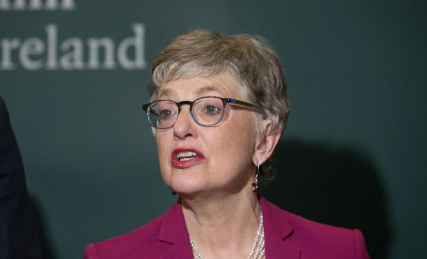 Women facing barriers at work: Children's Minister Katherine Zappone at the launch in Dublin of plans for a new Citizens' Assembly on gender. Photo: Gareth Chaney/Collins