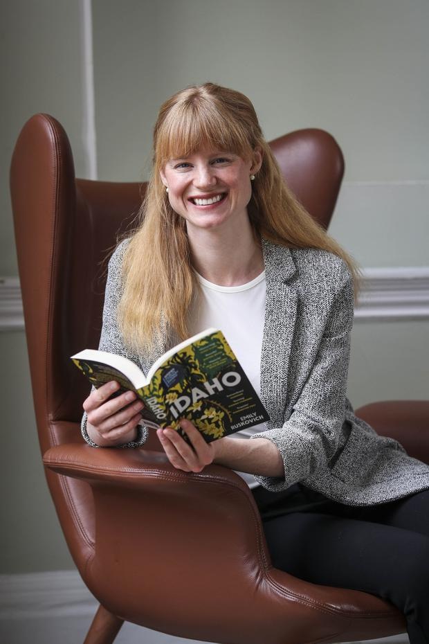 American author Emily Ruskovich, winner of the 2019 International Dublin Literary Award. Photo: Conor McCabe