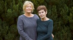 Searching for answers: Helen Maguire and her daughter Christine Skipsey. Photo: Damien Eagers