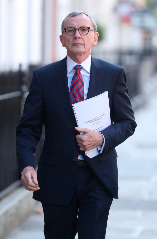 Voiced his concerns: Dr Gabriel Scally's latest report highlighted the use of a UK lab in Salford, Manchester, to examine smear tests from Ireland. Picture: PA