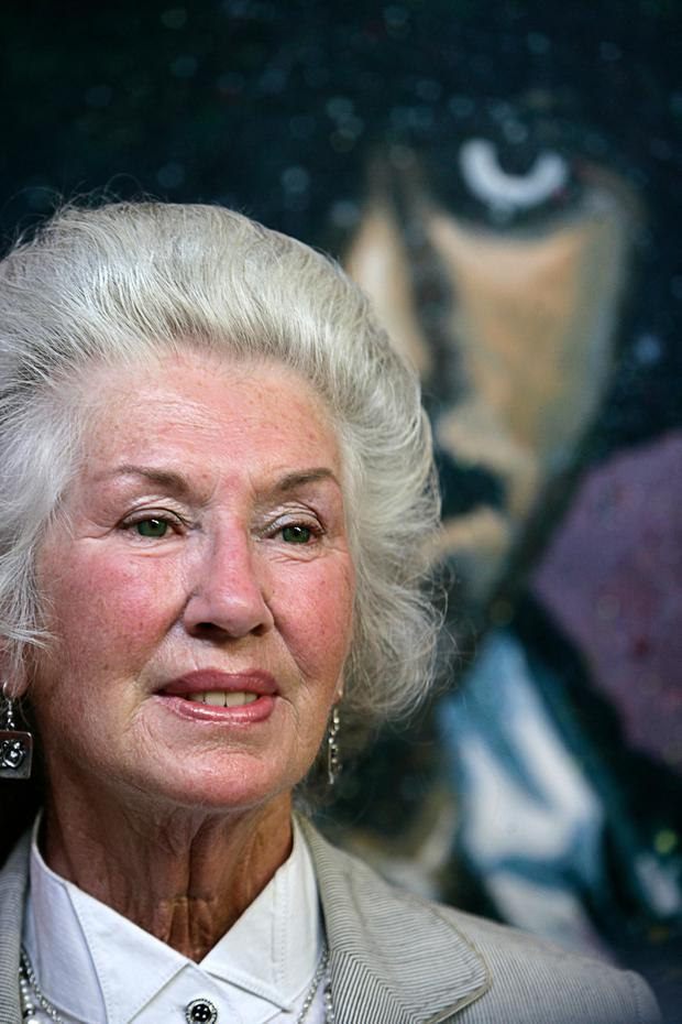 Legacy: Philomena Lynott was the main force in ensuring her son Phil's music was remembered. Photo: Collins
