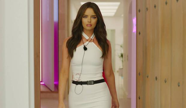 Longford woman Maura Higgins arrives at the Love Island villa. PIC: ITV2