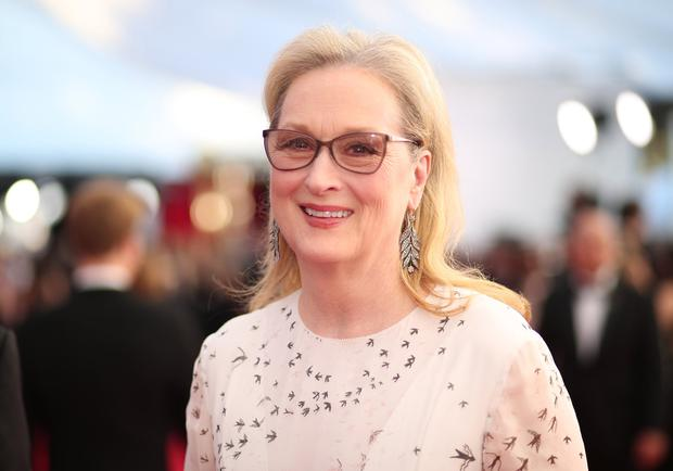Screen icon: Streep jumped at the chance to join the cast for season two