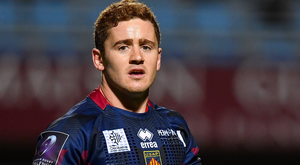 Paddy Jackson: The former Ulster player in action for Perpignan in France last season. Photo: Sportsfile