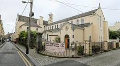 Church: The Cappuchin Friary in Kilkenny where Tom Forde gave his controversial homily. Photo: Gerry Mooney