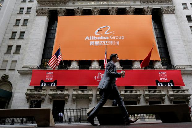 Alibaba holds the record for the world's largest initial public offering with its $25bn float in New York five years ago. Photo: Reuters