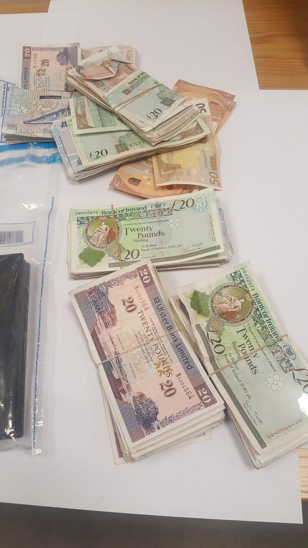 "£ 7,500 in cash was also seized ""title ="" £ 7,500 in cash was also seized ""width ="" 620 ""height ="" 1102"