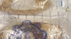 A quantity of heroin was seized