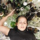 'Among 18 to 24-year-olds a quarter of them will drink their weekly 'allowance' in one sitting'. (picture posed)