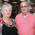Martin Mulligan with Mary his Wife Pic Kevin Mc Nulty
