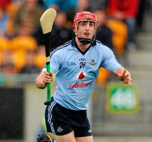 Ryan O'Dwyer in action against Galway in the 2011 Leinster semi-final. Photo: Stephen McCarthy/Sportsfile