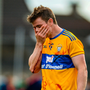 A bloodied Tony Kelly after Clare's defeat to Limerick last week. The Banner need to figure out a Plan B if they are to have any hope of staying in the Championship. Photo: Diarmuid Greene/Sportsfile
