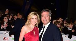John Torode and Lisa Faulkner arriving at the National Television Awards 2016 held at The O2 Arena in London. PRESS ASSOCIATION Photo. See PA story NTAs. Picture date: Wednesday January 20, 2016. Photo credit should read: Ian West/PA Wire