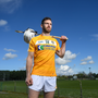 Antrim's Neil McManus counts himself fortunate to have grown up in the hurling stronghold of Cushendall. Photo: Sportsfile